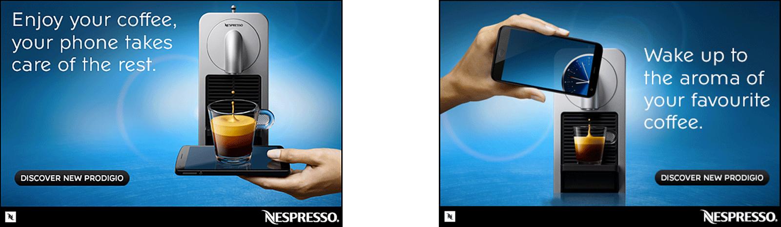 Squids Network Nespresso Machine Prodigio Banners