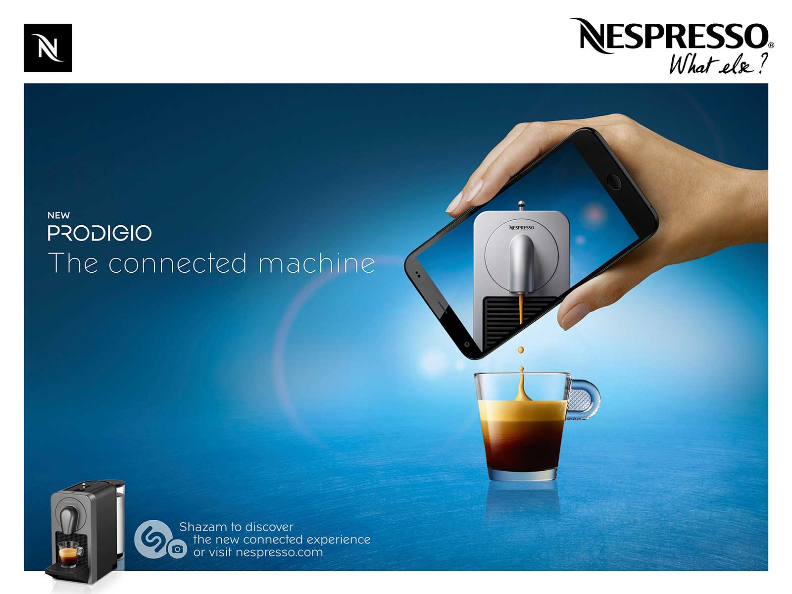 Squids Network Nespresso Machine Prodigio Key visual