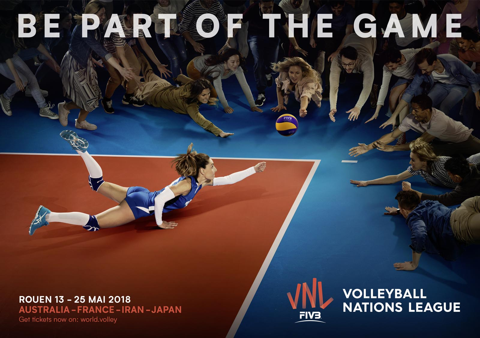 Squids_Network_creative_agency_FIVB_VNL_Poster_Woman