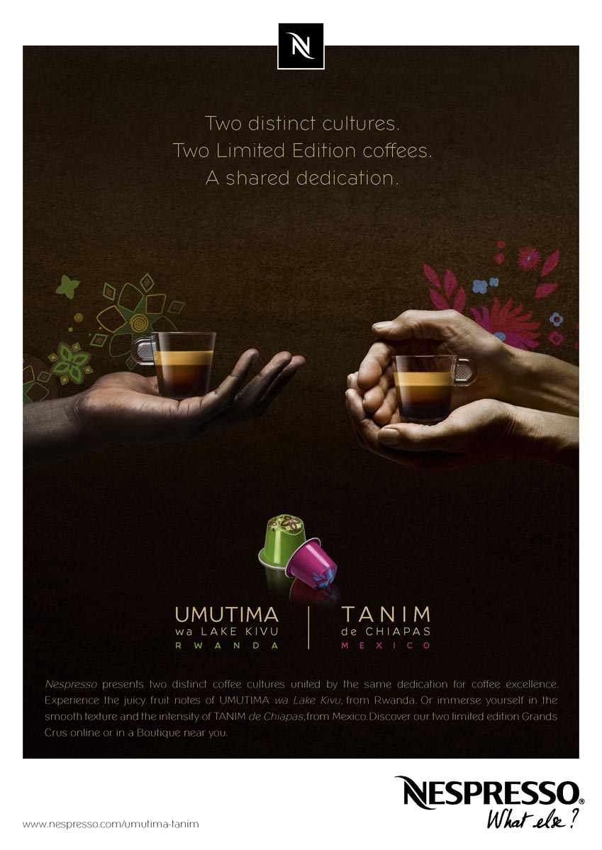 Squids Network creative_agency Nespresso variation Umutima Tanim