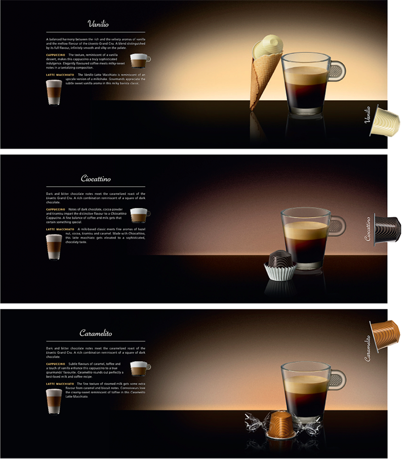 Squids Network_creative_agency_Nespresso_variation_brochure